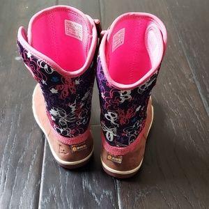 Plae Girl Boots Waterproof
